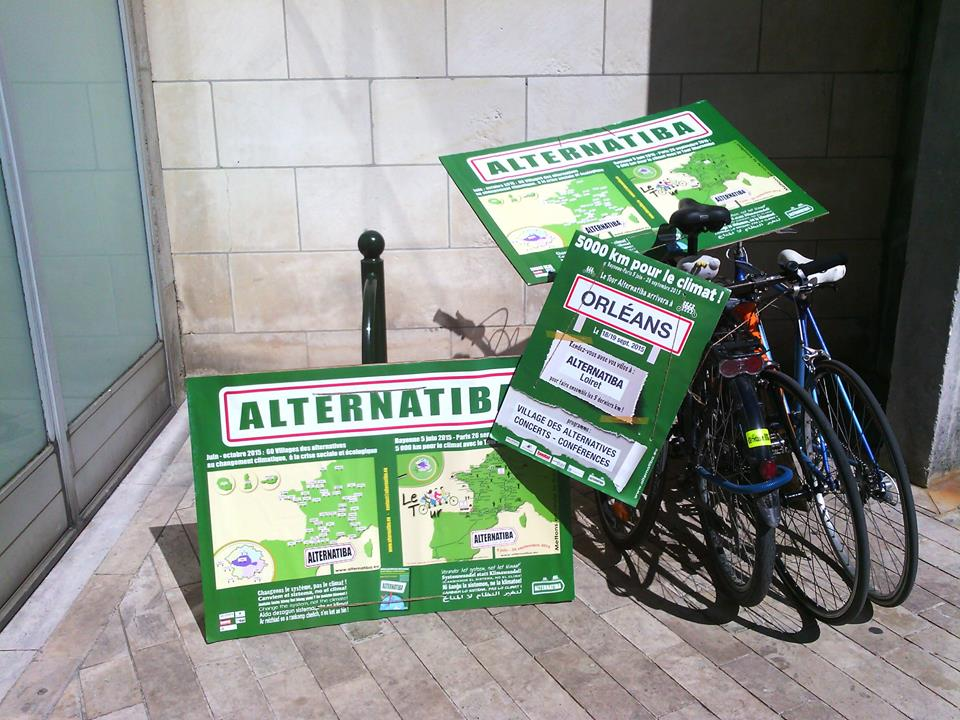 À Orléans, le tour Alternatiba