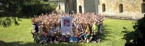 Université d'été des Amis de La VIe, Aubazine (Corrèze), juillet 2013.