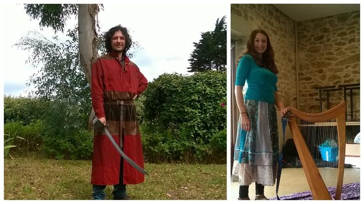Deux Celtes à Saint-Jacut
