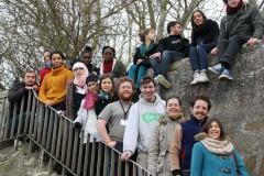 Les jeunes de l'association interreligieuse Coexister ont participé à la rencontre.