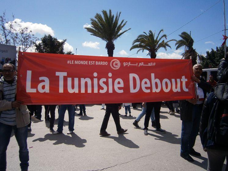 FSM : Nous étions à la marche contre le terrorisme