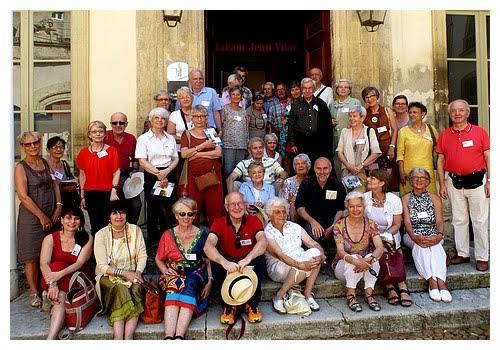 Récit de la journée autour du festival d'Avignon
