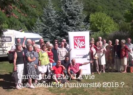 Que retenir de l'université d'été 2015 ?
