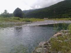 Les eaux du Gave.