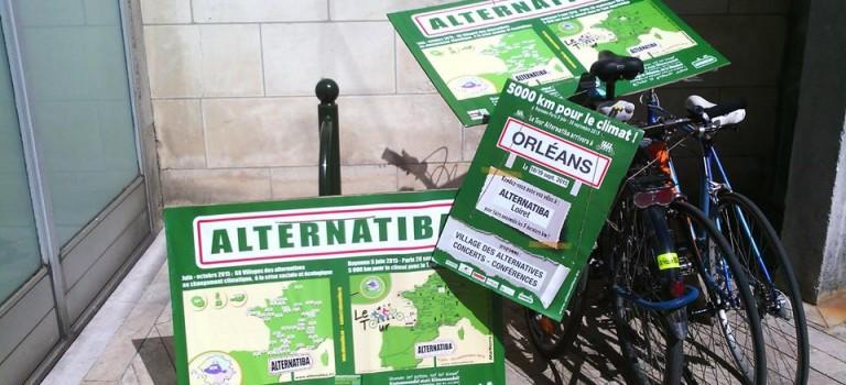À Orléans, le tour Alternatiba