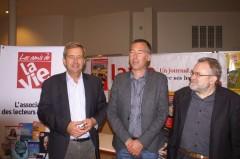 Frédéric Baule, Gaël Derive et Olivier Nouaillas