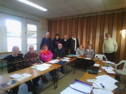 Le groupe de Loire-Atlantique.