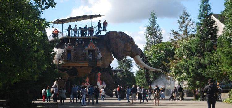 Les Machines de l'île de Nantes, carnet de voyage…