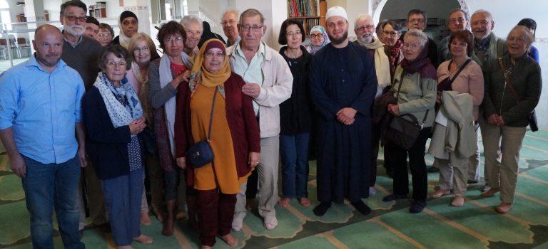 À Chelles, les Amis visitent la mosquée et dialoguent avec l'imam