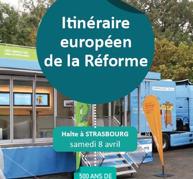 À Strasbourg, halte de la caravane de la Réforme