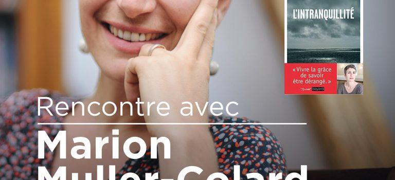 Marion Muller-Colard à Versailles et à Méaudre