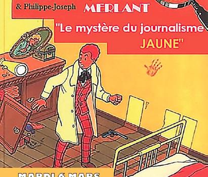 Conférence gesticulée à Bergerac sur les médias