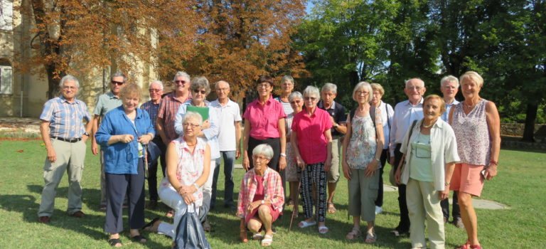 Amis de l'Isère : début de saison au monastère d'Aiguebelle