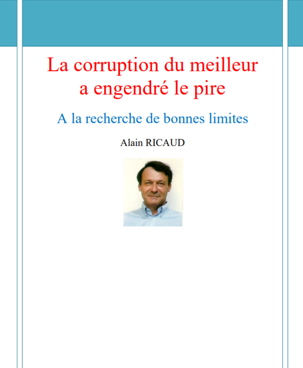 Un livre d'Alain Ricaud sur simple demande