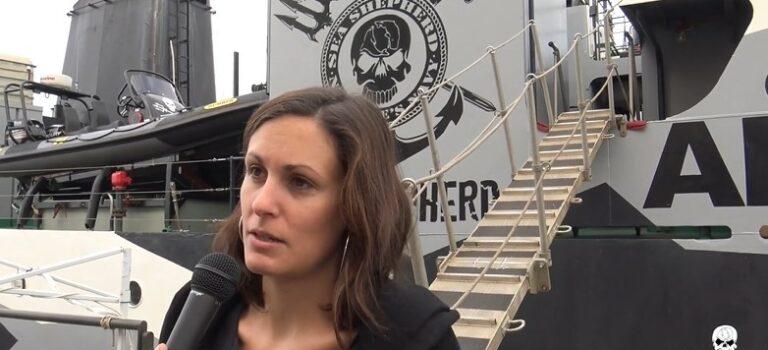 «Embarquer sur un bateau de Sea Shepherd, c'est vivre une immersion totale et profonde pour la cause écologique»
